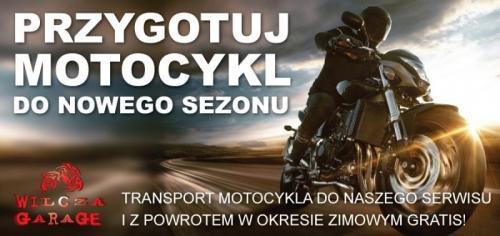 Przygotuj motocykl
